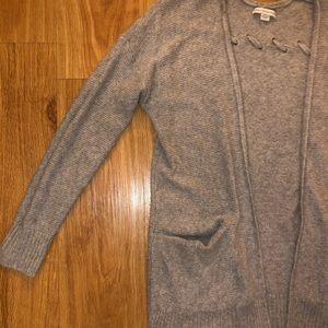 American Eagle Outfitters Sweaters - GRAY CARDIGAN